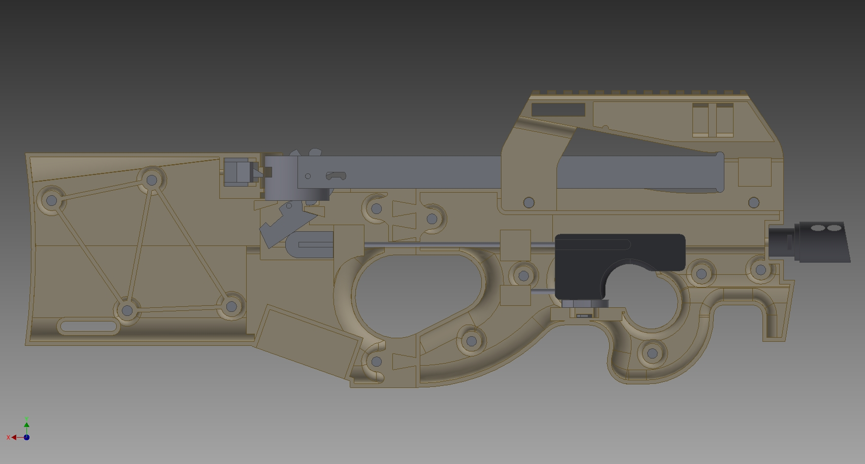 Automatic Rubber Band Gun Plans