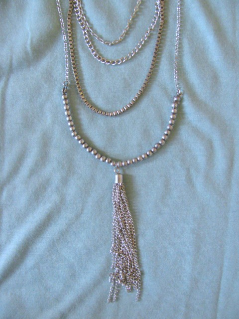 Layered Necklaces are the Best! This one is from AE