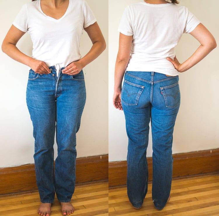 Jeans-Refashion_Refashioners-2016_Closet-Case-Files-before