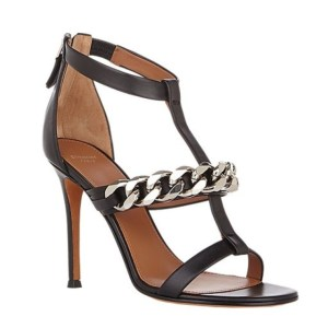 Givenchy Mirtilla Chain Link T-Strap Sandals