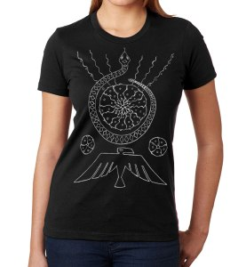 Ladies' Peyote Shirt shamanism design by Closet of Mysteries