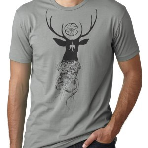 Peyote Deer Shirt original hand drawn design by Closet of Mysteries