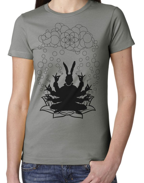Ladies' Bubble God Sacred Geometry Shirt by Closet of Mysteries