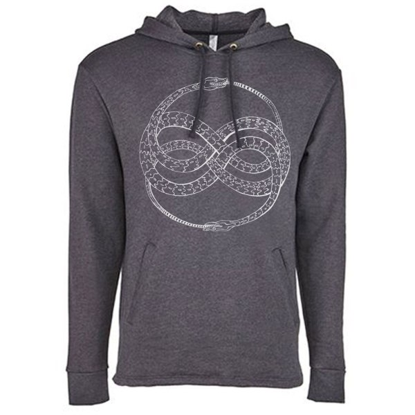 Ouroboros Hoodie Witchy Shirt by Closet of Mysteries
