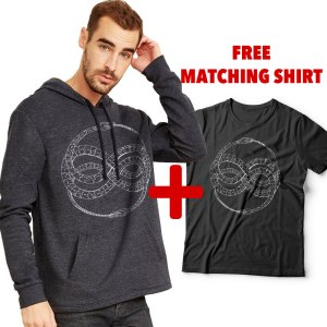 Ouroboros hoodie by Closet of Mysteries