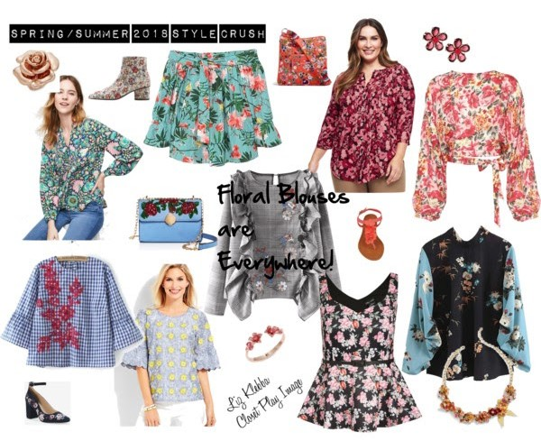 Trend Watch-Floral Blouses