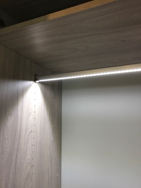 Make an Impact with LED Closet Lighting