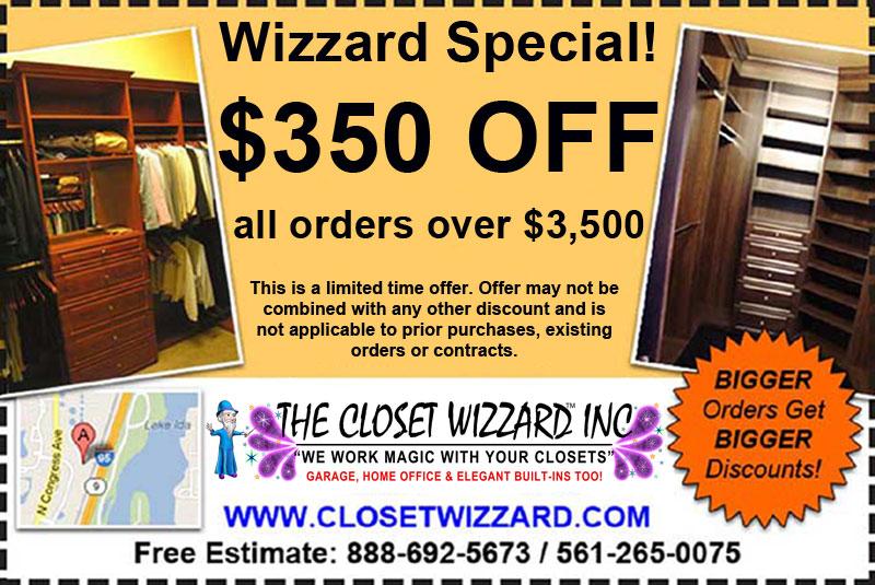 Closet Storage System Sale