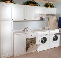 Custom Laundry Cabinets and Storage System