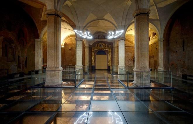 ASF2020_4 Presentazione Hic Shunt Leones intervento di Elisa Bertaglia presso la Corte Medioevale di Palazzo Madama.