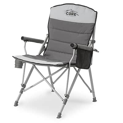 folding chair outdoor papasan covers amazon top 10 best lawn chairs in 2019 closeup check core