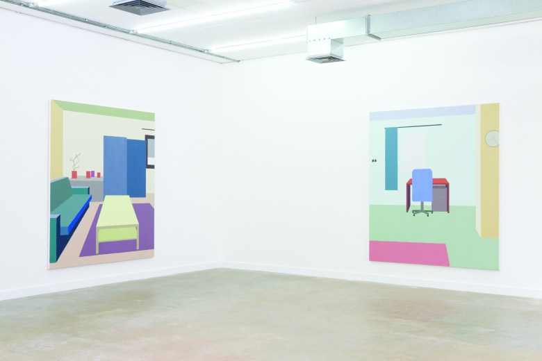 Installation view_Zsofia Schweger_ BLOC at Griffin Gallery_2016_02