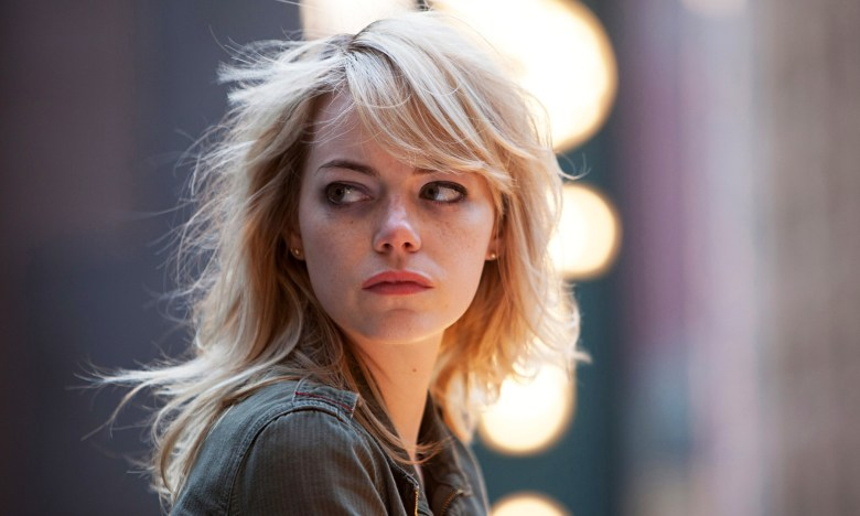 Actor Emma Stone in Birdman