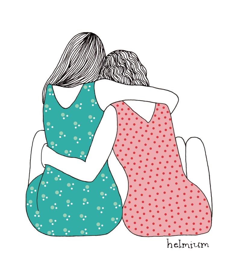 cuddling friends 2