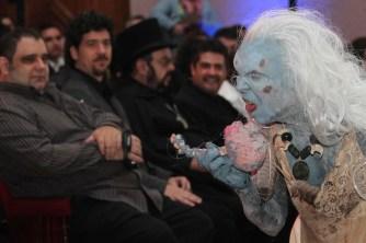 Los invitados fueron recibidos por un nahual (Foto: Paulo Vidales / Imagen Latente)