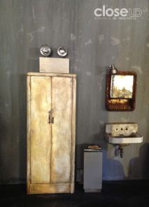 Aspectos del interior de la locación, adaptada para las necesidades de la historia (Foto: Close Up)