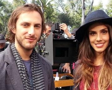 Fotos: Zurita y Echeverría filman Amor de mis amores