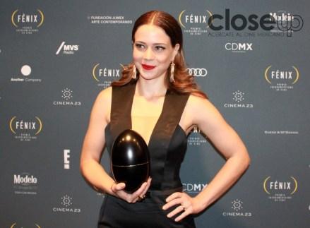 La categoría de Actuación Femenina fue para Leandra Leal (Foto: Itzuri Sánchez Chávez)