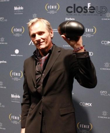 Mejor Actuación Masculina, Viggo Mortensen (Foto: Itzuri Sánchez Chávez)