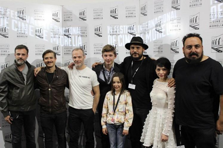 Equipo del largometraje dirigido por Daniel Castro Zimbrón (Foto: Itzuri Sánchez)