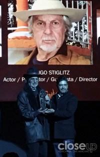 """""""Hay que crear un mundo mejor, buscar en el cine una vida que no tenemos y podemos lograr"""", expresó Hugo Stiglitz."""