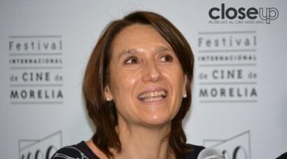 Carmen Beato, protagonista del largometraje dirigido por Bárbara Ochoa, Tiempo sin pulso (Foto: Amelia Rojas)