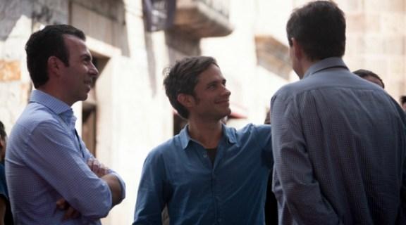Alejandro Ramírez, Gael García Bernal y Cuauhtémoc Cárdenas Batel (Tomada de http://moreliafilmfest.com)