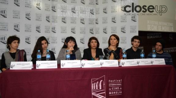 El equipo de Tiempo sin pulso (Foto: Amelia Rojas)