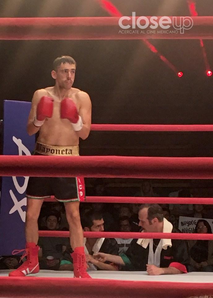 """""""Bayoneta"""" Galindez trabaja como entrenador de box en Turku. Foto: Ariel Figueroa"""