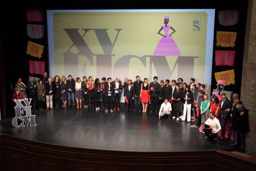 Lista de ganadores del 15 FICM