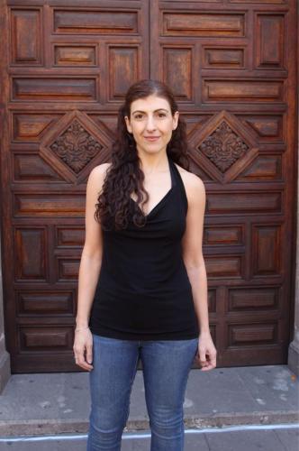 Karina Gidi es Rosario Castellanos adulta.