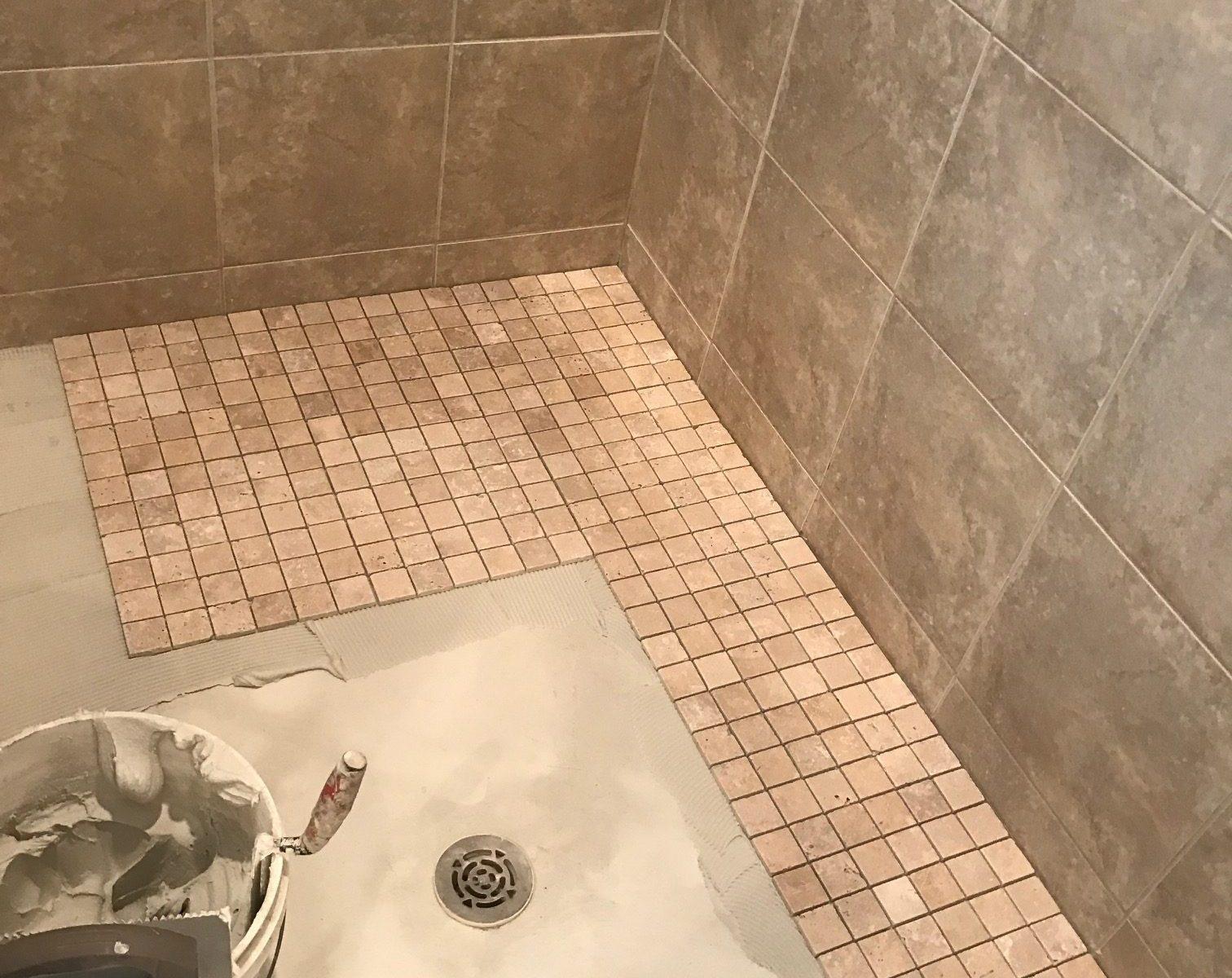 Retiling Shower Floor Closings And Car Seats
