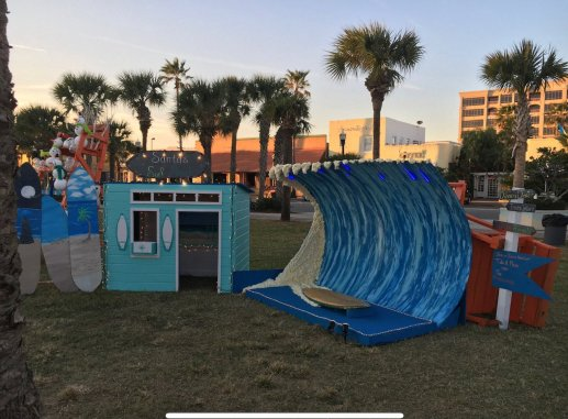 Deck the Chairs Jacksonville Beach Davidson Realty Santas Surf Shack Wave