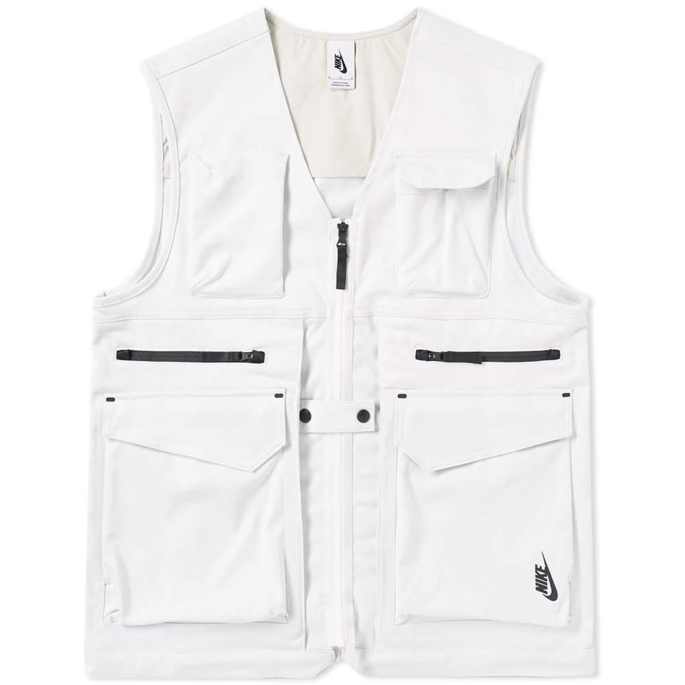 NikeLab Utility Vest White Nike