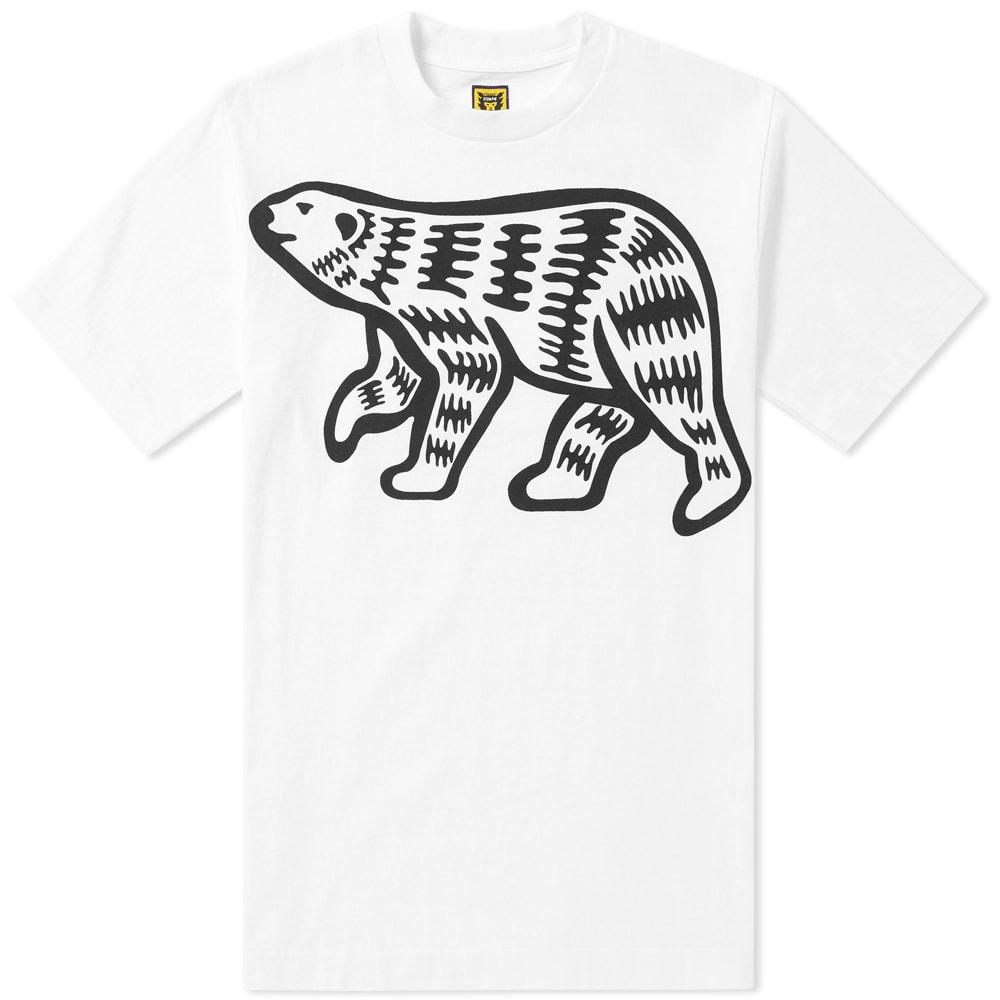 Human Made Big Print Polar Bear Tee Human Made