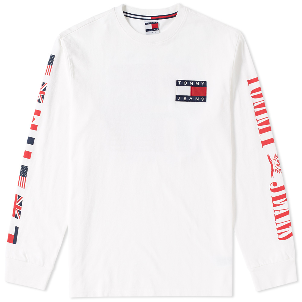 Tommy Jeans Long Sleeve 90s CN Tee Tommy Jeans
