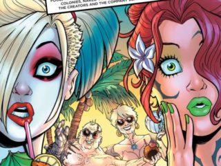 Harley Quinn 8 cover