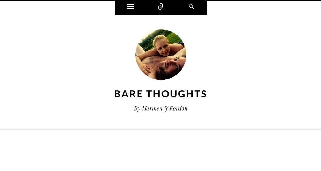 Bare thoughts web site