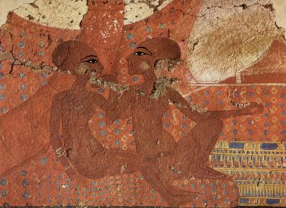 Wall painting from El-Amarna