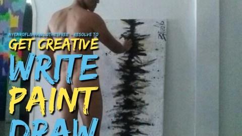 Resolve to get creative