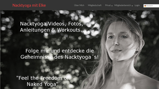 Nackt Yoga with Elle