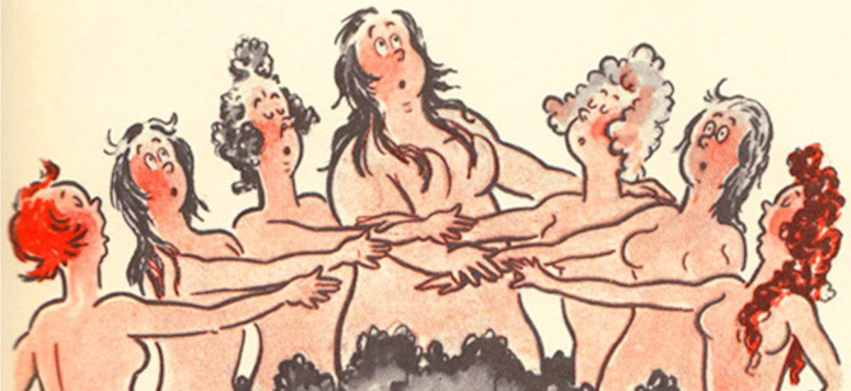 Dr. Seuss's Little-Known Book of Nudes  (via The Atlantic)