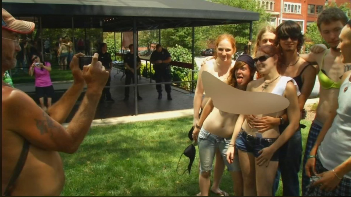 Asheville, other NC cities, can't stop 'topless rallies' due to state law (via WLOS)