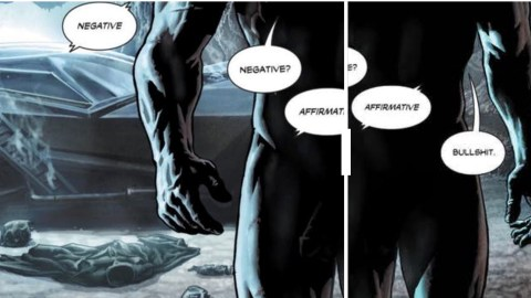 Batman's penis is in a comic book for the first time ever — but not for long (via Vox)