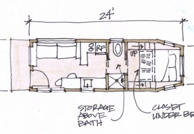 Impressive Tiny Houses Plans Free 1 Free Tiny House Plans