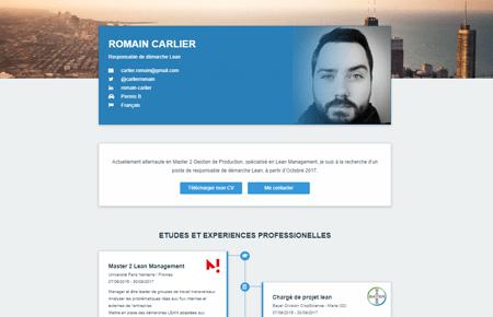 Romain Carlier - Web