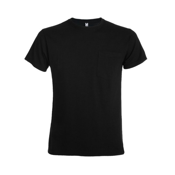 Teckel Short Sleeve T-shirt With Front Pocket