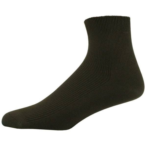 Men' 100 Percent Cotton Ankle Socks Sport Apparel