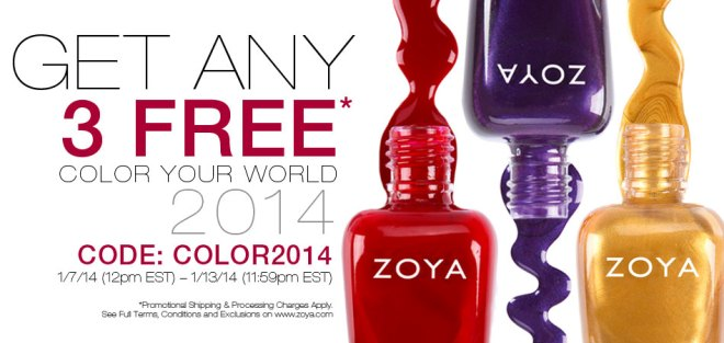 Zoya Three Free