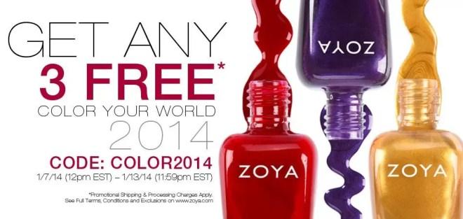 Zoya Three Free